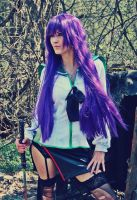 Saeko Busujima - Highschool of the Dead by BeataVargas