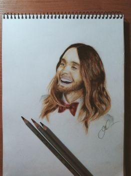 Jared Leto, Oscar 2014 by tomofrommars