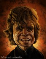 Tyrion Lannister Caricature by Jubhubmubfub