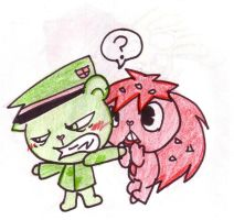 Flippy and Flaky Protecter by Bean-erchic