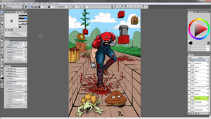 My Coloring Process by JeremiahLambertArt