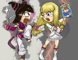 Juri vs Lili by pandadidge