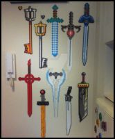 Beads - Swords Collection 1.5 by Oggey-Boggey-Man