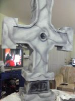 Completed Tombstone! by FoamFusion