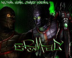 Ermac by ArcanaHunkCamreKaenz