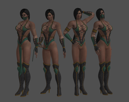 Jade naked pack by dim1988