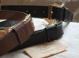 leather belts by swietyleather