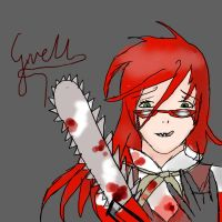 Grell Sutcliffe by deoxys90