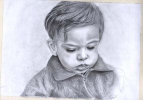 portrait of Parsa by Persiangirl