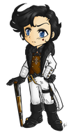 Reaver Chibi by Celestialess