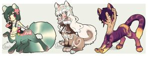 Drink-themed Taur Adopts (CLOSED) by Desiree-U