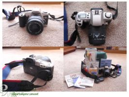 Canon 500n RebelG FOR SALE by lilly-peacecraft