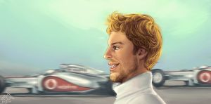 Jenson Button by forskuggad