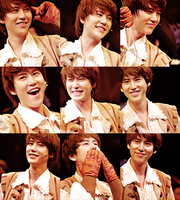 Kyuhyun Smiles by myelfhaven
