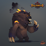 Hell Bear by Gimaldinov