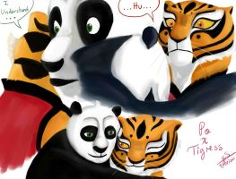Po x Tigress Colored by yunnasukiga5