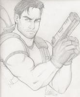 Chris Redfield, from RE5 by Holly-the-Laing