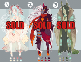 [CLOSED] Elf Adopts #1 Still Available $20 by Valkymie