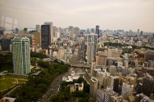 View from Tokyo Tower 1 by MarcAndrePhoto