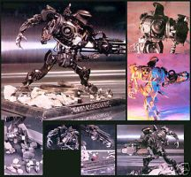 ROBOCOP 2 CAIN model RARE wow by Amann7