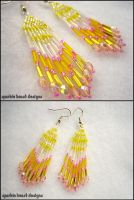 Mini Lemonade Earrings by Natalie526