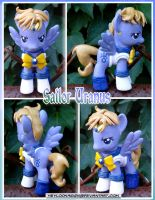 Sailor Uranus Pony by HeyLookASign