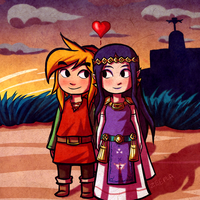 Valentine's Day Link and Hilda by Zeepla