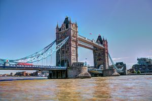 Tower Bridge 1: postcardish by aglezerman