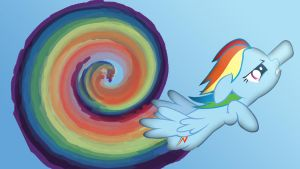 Rainboom. by 30ColoredOwl