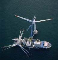Building Nysted wind farm by NSLC