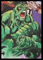 CLOSE UP OF HULK by KYLE-CHANEY