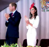 Duke and Duchess of Cambridge by lilynoelle