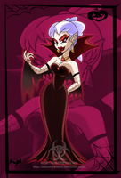 Halloween Pin Up 2 C by Twisted-Persona