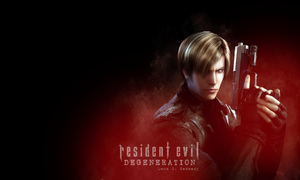 Leon S. Kennedy wallpaper by Queen-Stormcloak