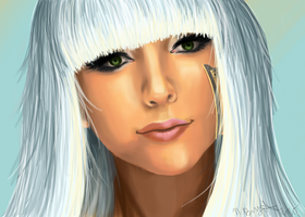 The Lovely Lady Gaga by Chicken-Priestess