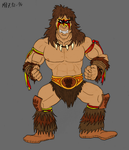 Ultimate Warrior, alternate colours by Mara999