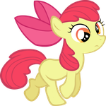 Apple Bloom Derp by LilCinnamon