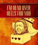Game of Thrones Valentine - Ned Stark by arosenlund