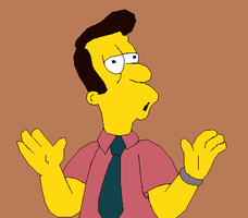 The Simpsons - Reverend Timothy Lovejoy by LamePie
