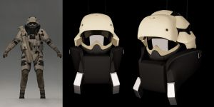 character is being modeled in C4D R13 by accau