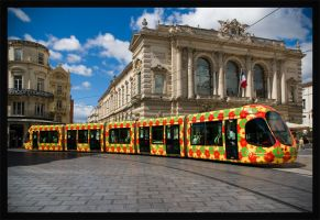 Tramway de Montpellier by Guy66