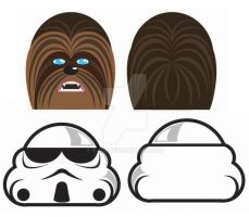 Star wars icons by E-m2