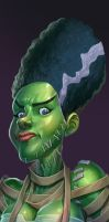 Monster Bonus: Bride of Frankenstein by kidchuckle