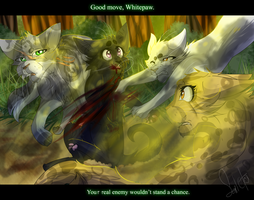 Blossompaw's Death (Warrior Cat OCs) by WarriorCat3042