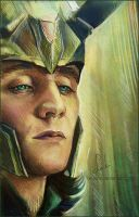 Loki - process by Feyjane