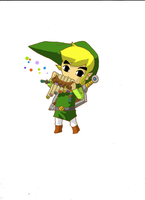 Toon link from Spirit tracks by Dook89
