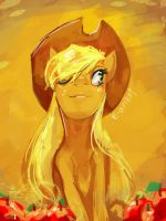 AppleJack by Electrixocket