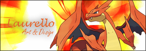 Mega Charizard Sig Banner By Laurello by Laurello7