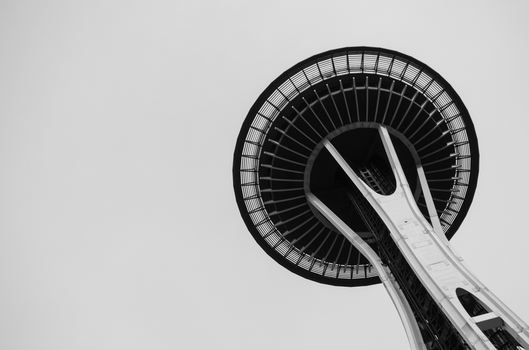 Seattle Space Needle 1 by NeonAuraPhotography