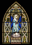 Stained Glass Background by longestdistance